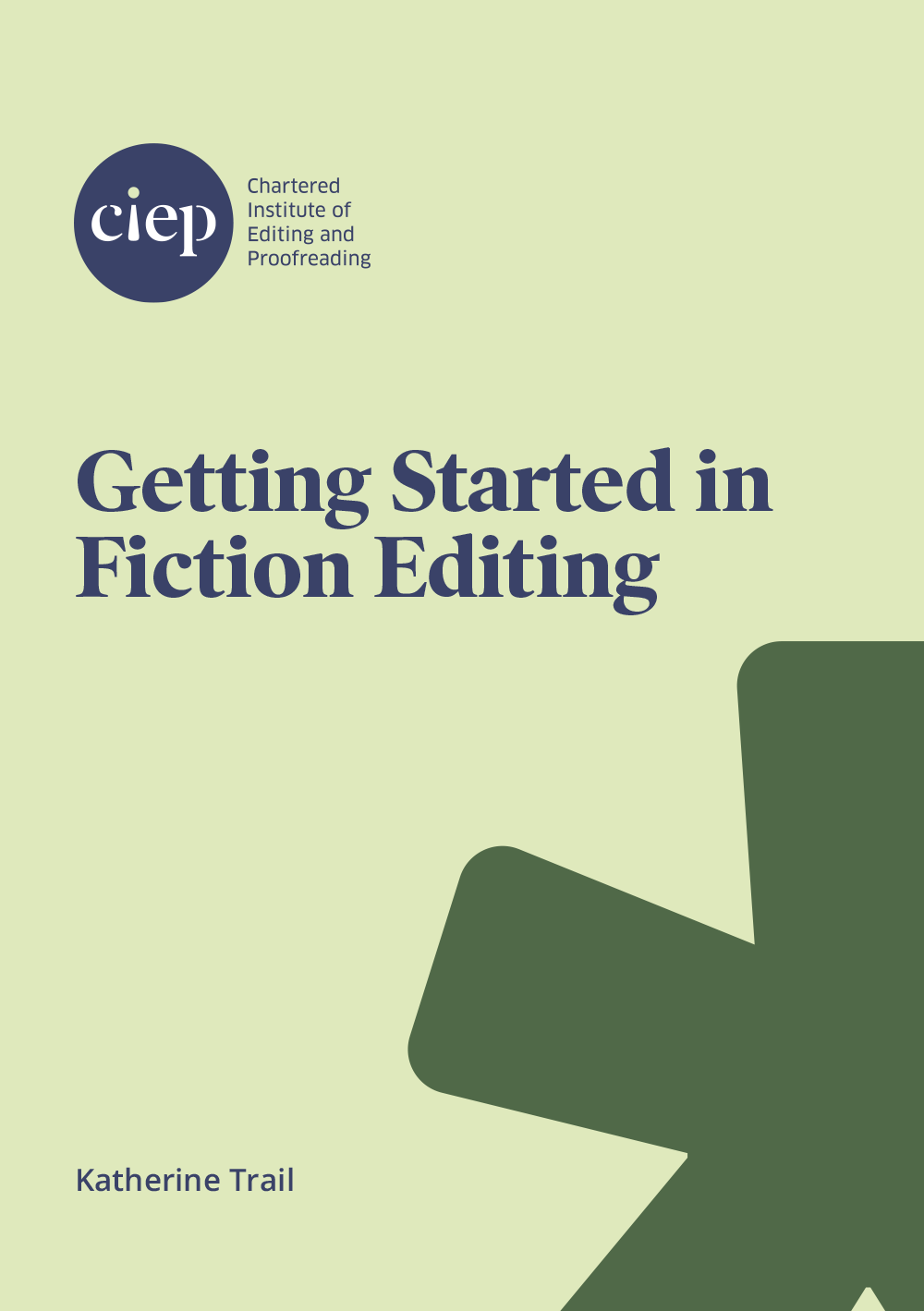 Cover of Getting Started in Fiction Editing