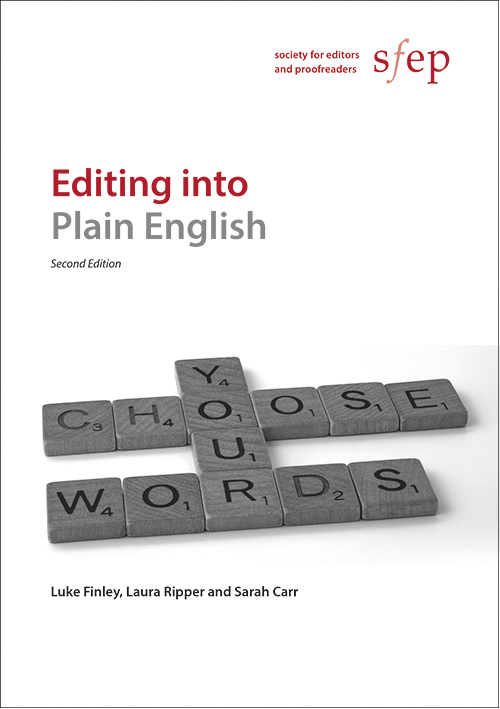 Cover of Editing into Plain English