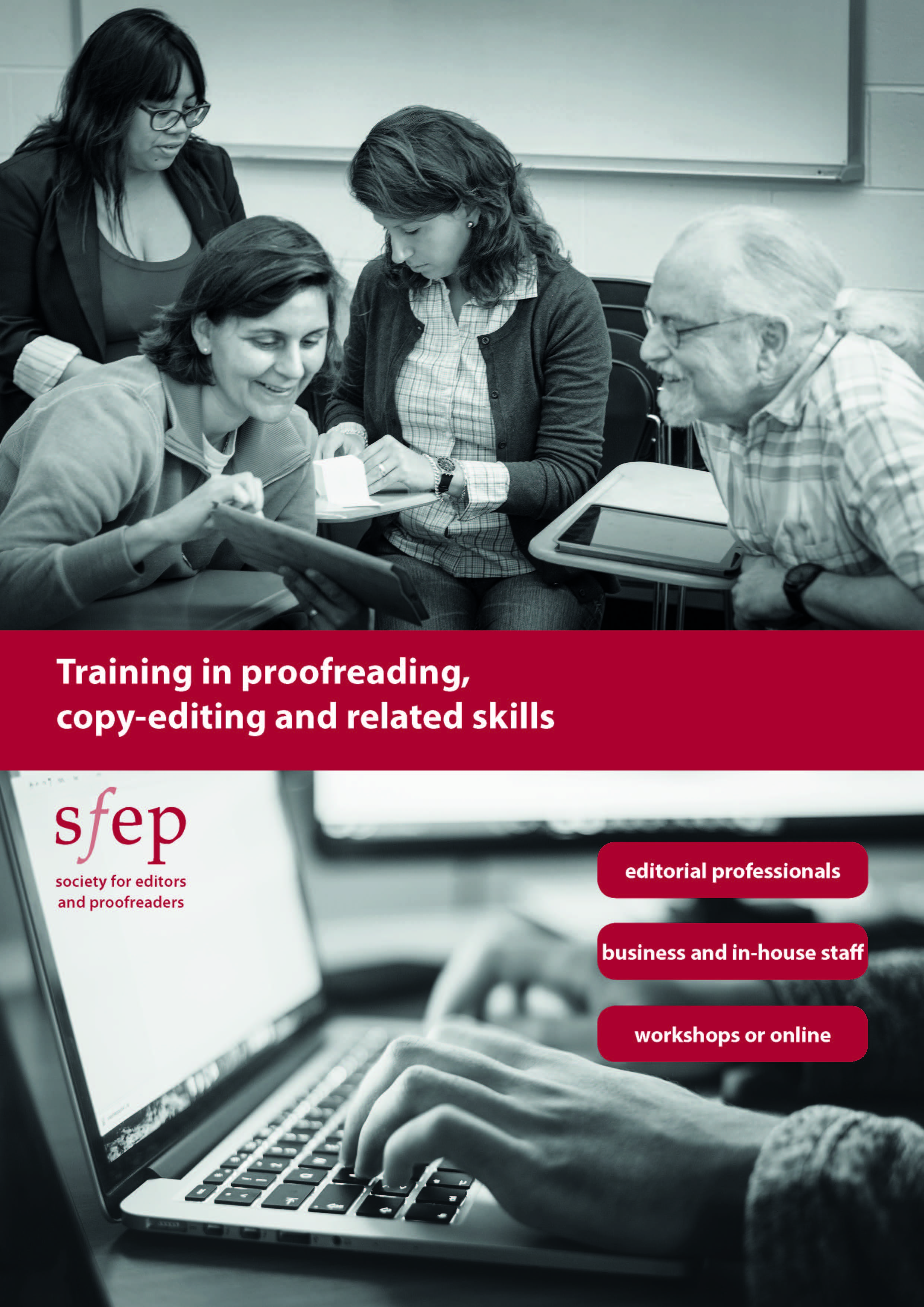 SfEP training courses brochure
