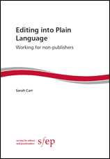 Cover of Editing into Plain Language