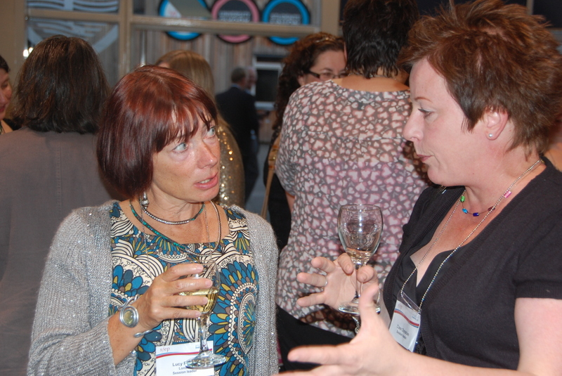 Is it Sauvignon or Pinot Grigio? Lucy Ridout and Clare Christian discuss