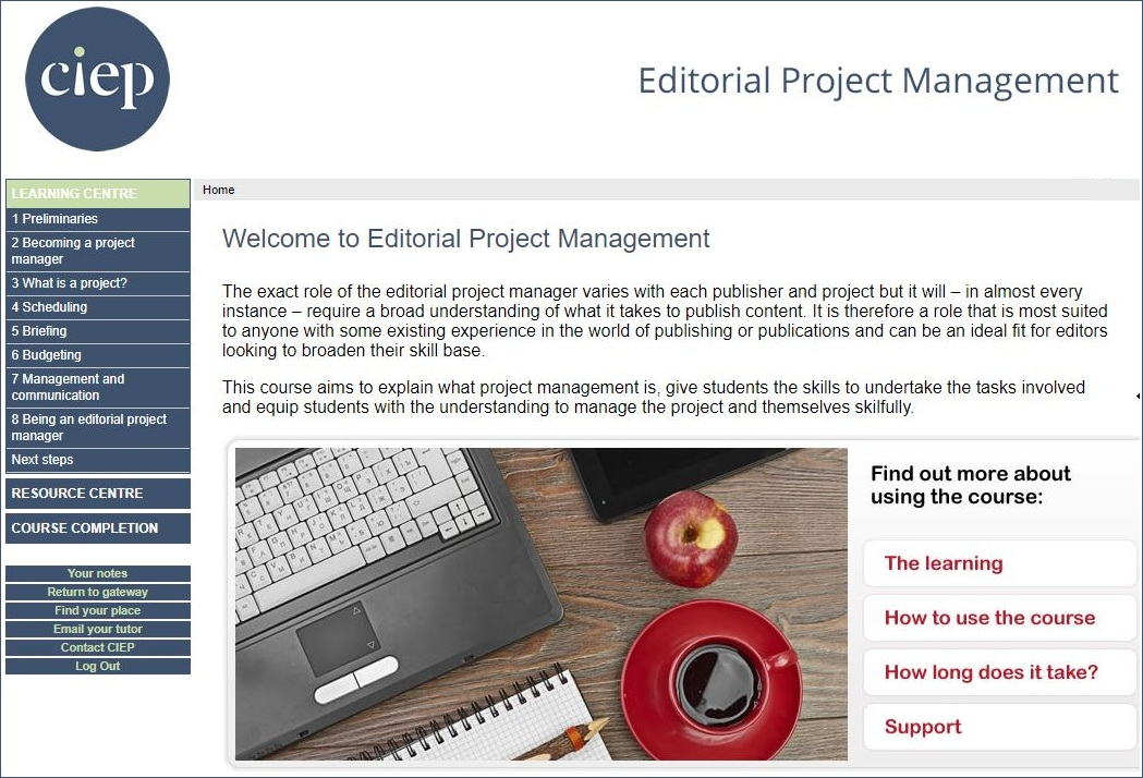 Editorial Project Management