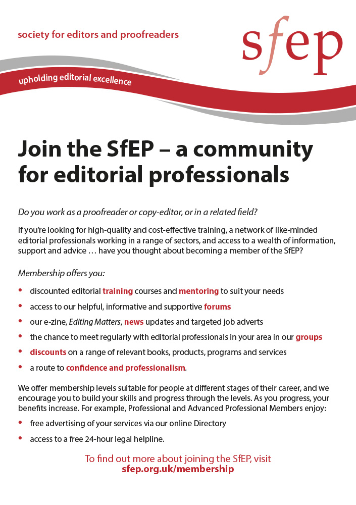 Join the SfEP
