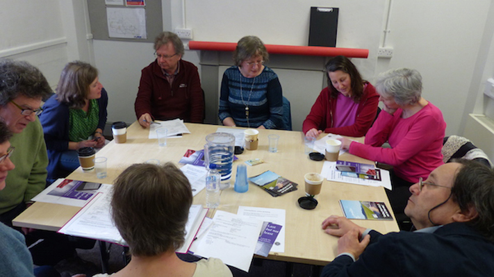 Local Group meeting at the Exeter Community Centre
