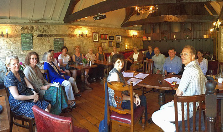 Local Group meeting at The Chequers, Oxford