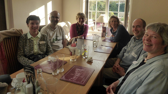 Local Group meeting at The Parrot Inn, Shalford